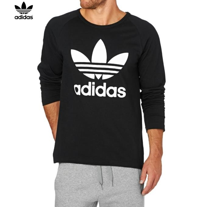 Adidas Black Long Sleeve Top