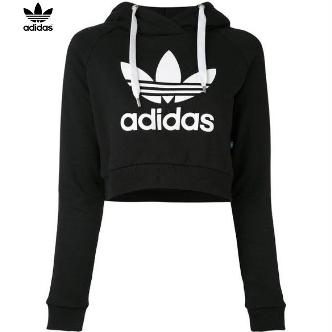Adidas Crop Top Sweatshirt