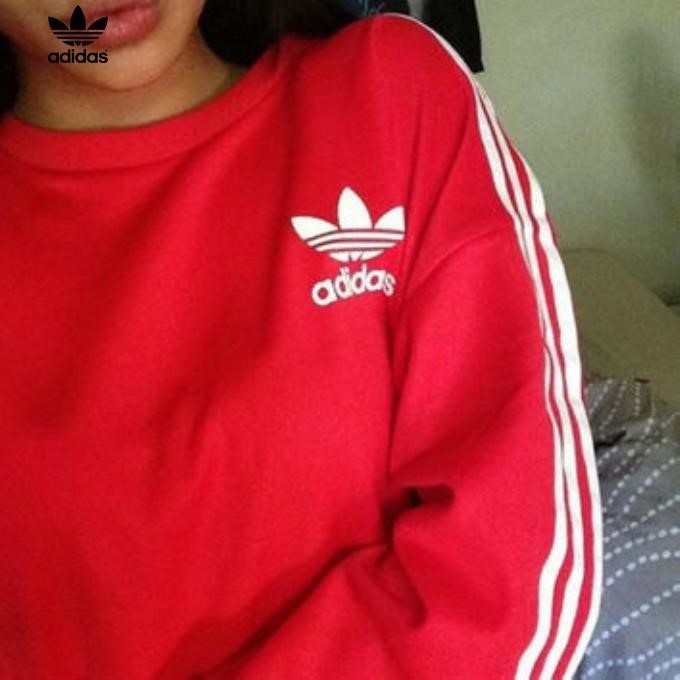 Adidas Red Pullover