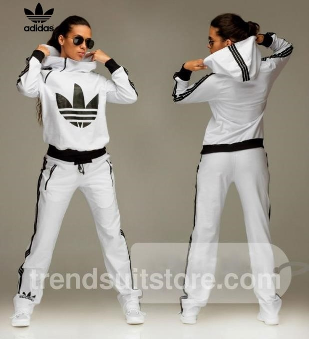 Adidas Tracksuit For Girls Black And White