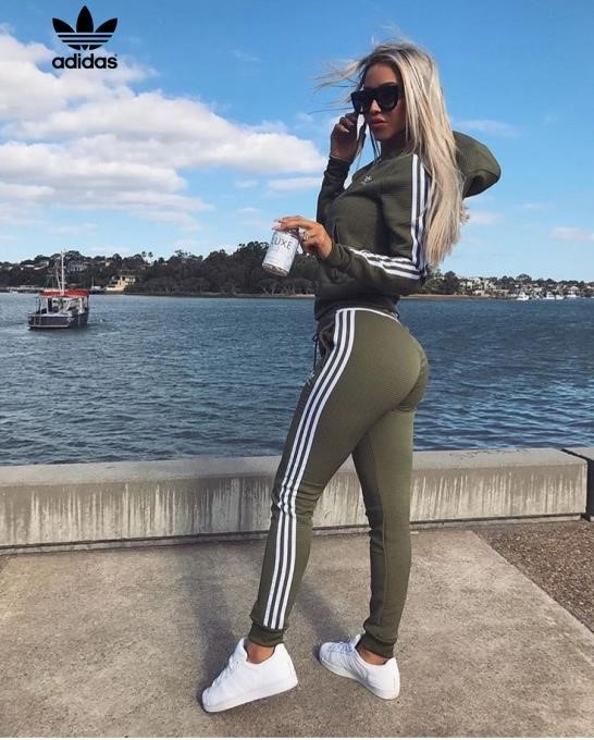 Grey Adidas Tracksuit Girls