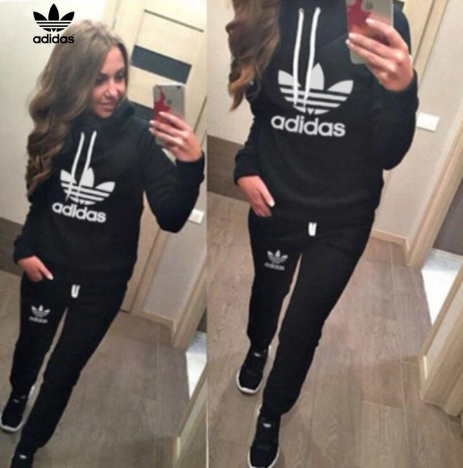 Adidas Tracksuit Women Black bridgerskifoundation.com bada460e3