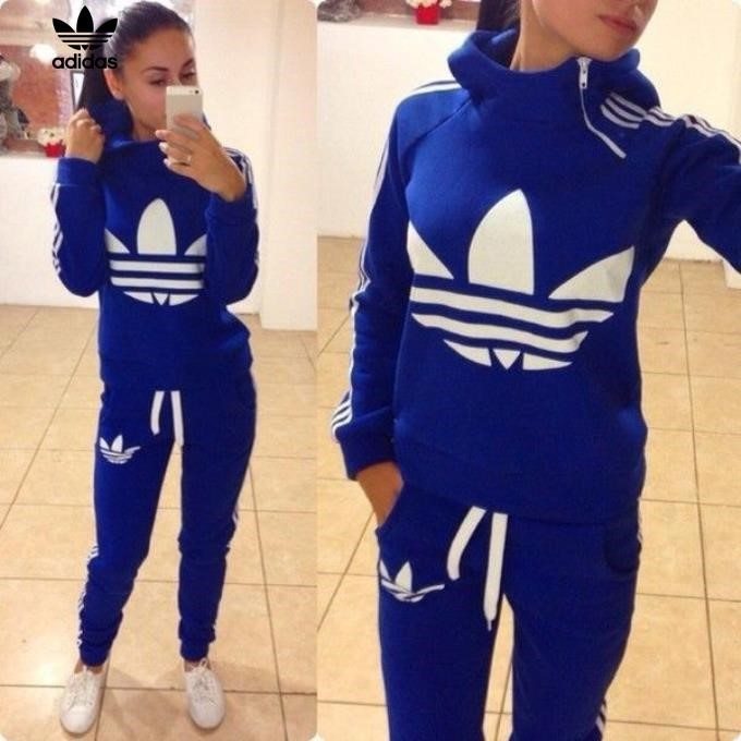 Womens Adidas Tracksuit Pink