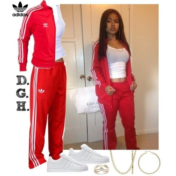 ccc18a3ee9 Red Adidas Tracksuit For Women bridgerskifoundation.com
