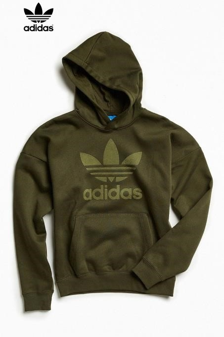 Adidas Green Hoodies