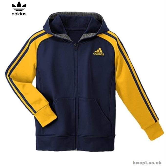 Yellow Adidas Hoodies