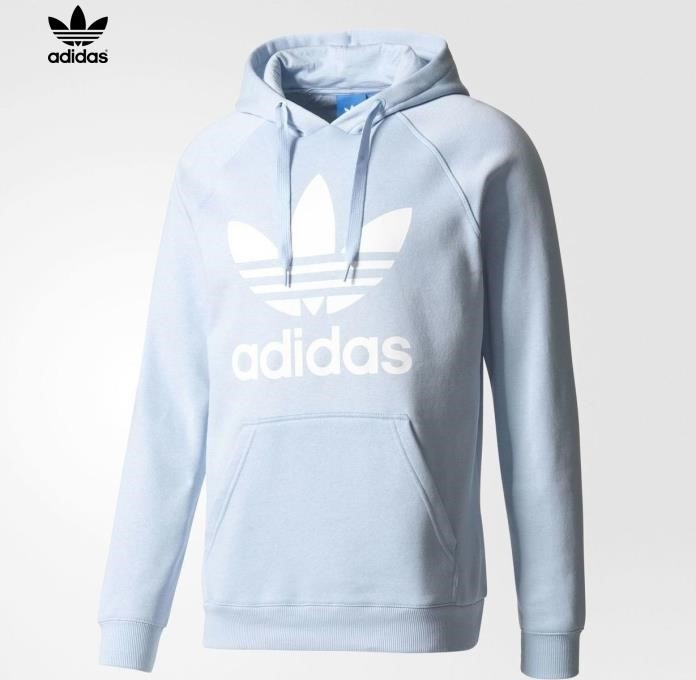 Adidas Hoodie Light Blue bridgerskifoundation.com